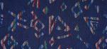 Rehastoff bunt gemustert, blau 002X2618