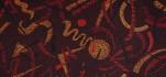 Rehastoff Flash rot, orange, schwarz 002X2687