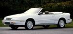 070X0395G Chrysler Himmel Chrysler LeBaron 87-89 Stoff grau