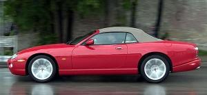 mah Assortiment Textiles automobiles Capotes repliables Jaguar 070X0616B_mah