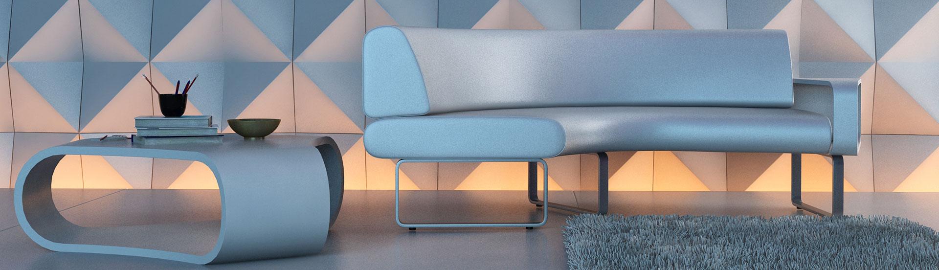 Hochwertiges Interior Design durch abgeschweisste Kunstlederbezüge, mah münchner autostoff handel GmbH